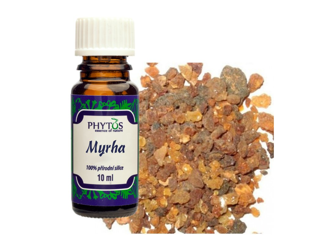 Myrha 100% esenciální olej Phytos