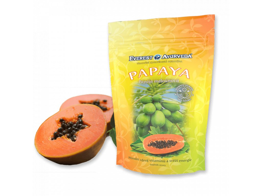 Papaya plod 100 g Everest Ayurveda