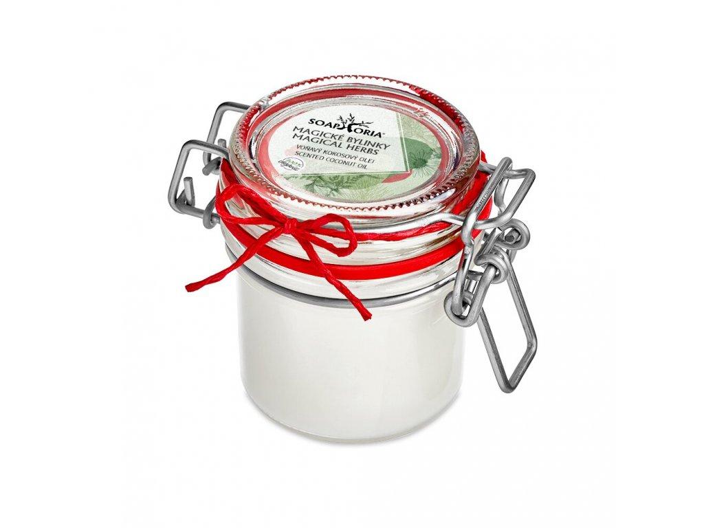 Magické bylinky kokosový olej 125 ml Soaphoria