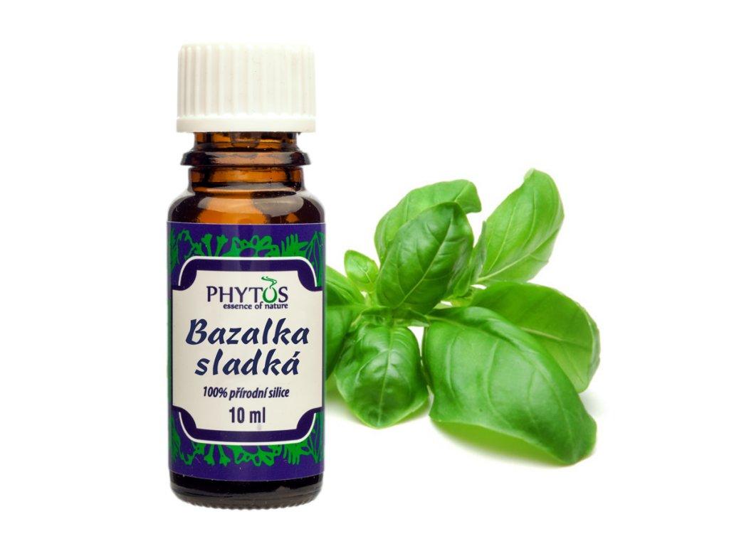 Bazalka sladká 100% esenciální olej Phytos