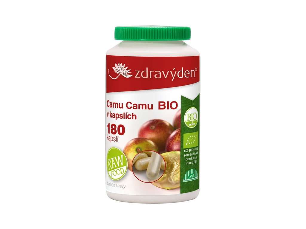 Camu Camu BIO - 180 kapslí - Zdravý den