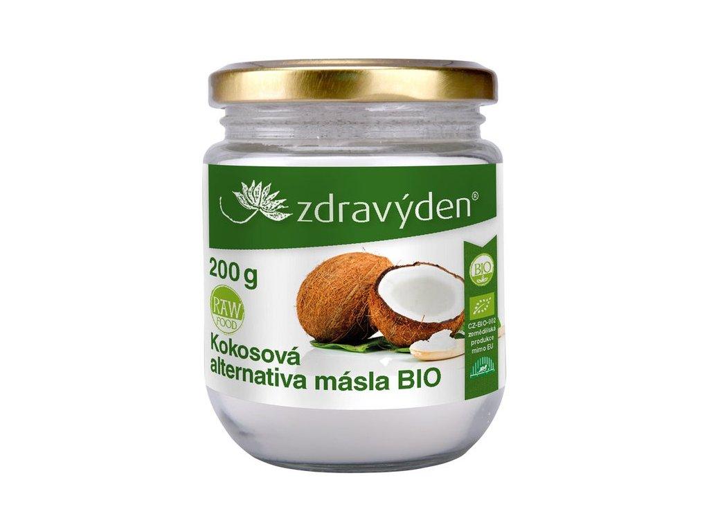 Kokosové máslo BIO - 200g - Zdravý den - expirace 10/19