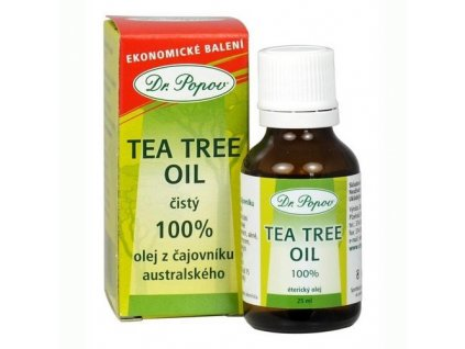 Tea Tree Oil - 25ml - Dr. Popov