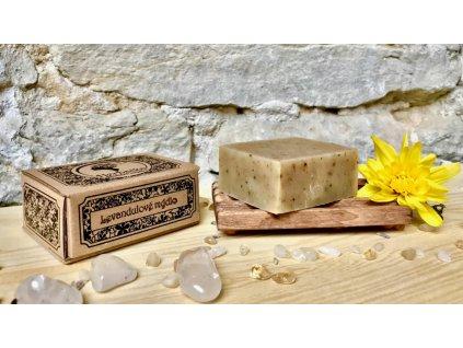 Herbalka levandulové mýdlo