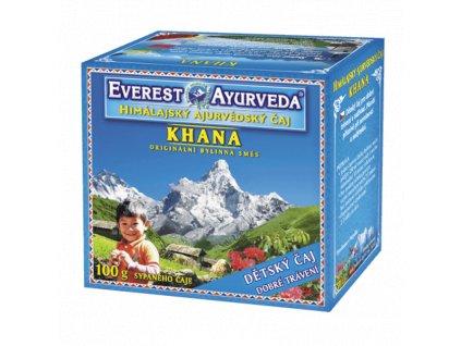 KHANA Dětský čaj pro dobré trávení 100g Everest Ayurveda