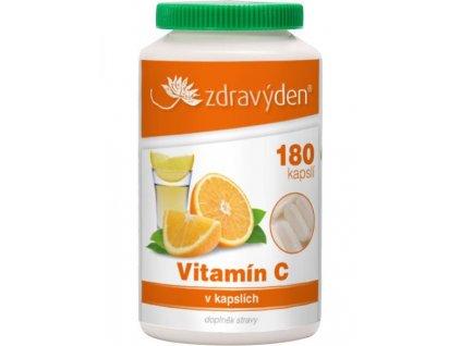 Vitamín C 180 kapslí Zdravý den