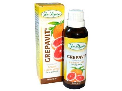 Grepavit - extrakt z jader - 100ml - Dr. Popov
