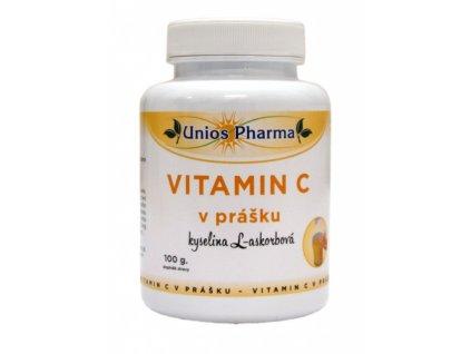 Vitamín C v prášku 100 g Unios Pharma