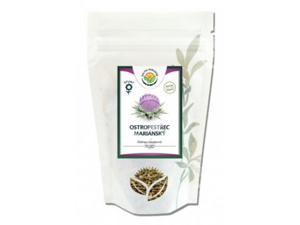 Ostropestřec mariánský celý plod 100 g Salvia Paradise