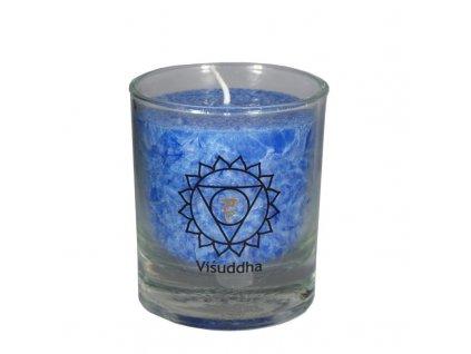 Mini čakrová svíce modrá - Cereus