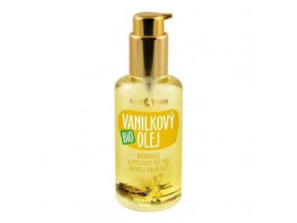Vanilkový olej BIO 100 ml Purity Vision