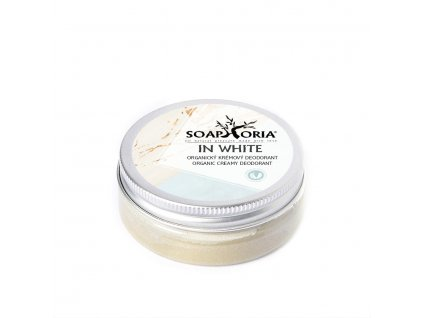 In White 50ml Přírodní krémový deodorant