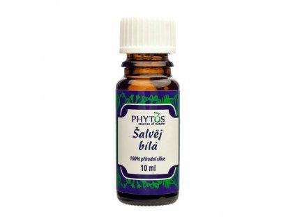 Šalvěj bílá 100% esenciální olej Phytos