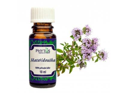 Mateřídouška 100% esenciální olej Phytos