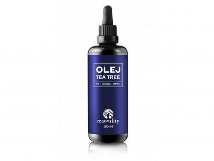 Tea Tree olej 100ml s kapátkem Renovality