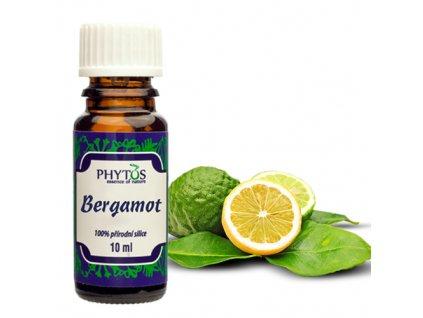 Bergamot 100% esenciální olej Phytos