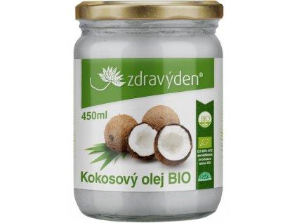 Kokosový olej BIO - 450ml - Zdravý den