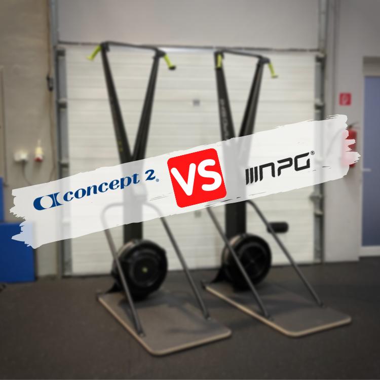 Bežkársky trenažér NPG SKI - Porovnanie s Concept2 SkiErg