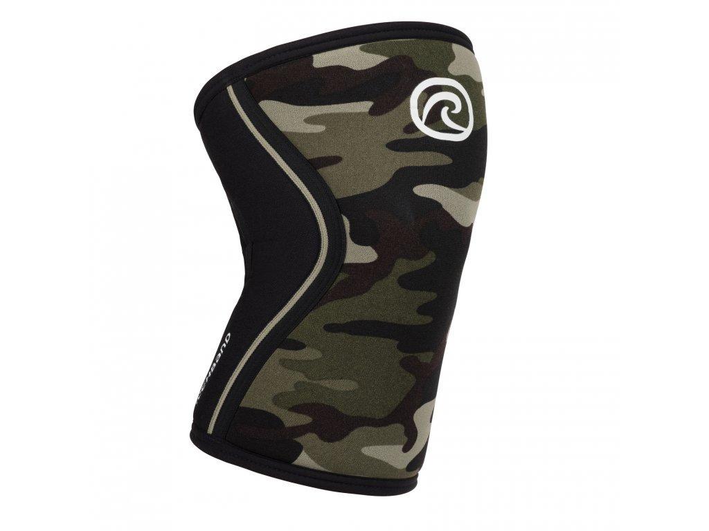 rehband camo RX kolenná bandáž -  kvalitná ortopedická bandáž s maskačovým vzorom - army bandage