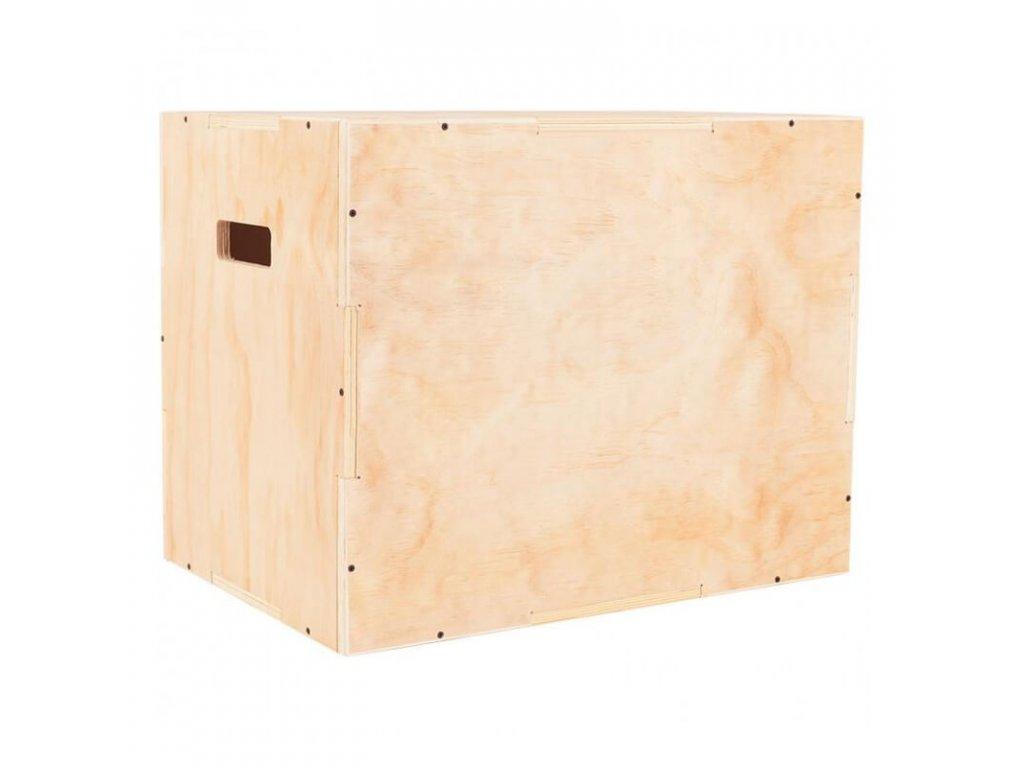 Masívny brezový plyo box na cvičenie - bedňa na cvičenie