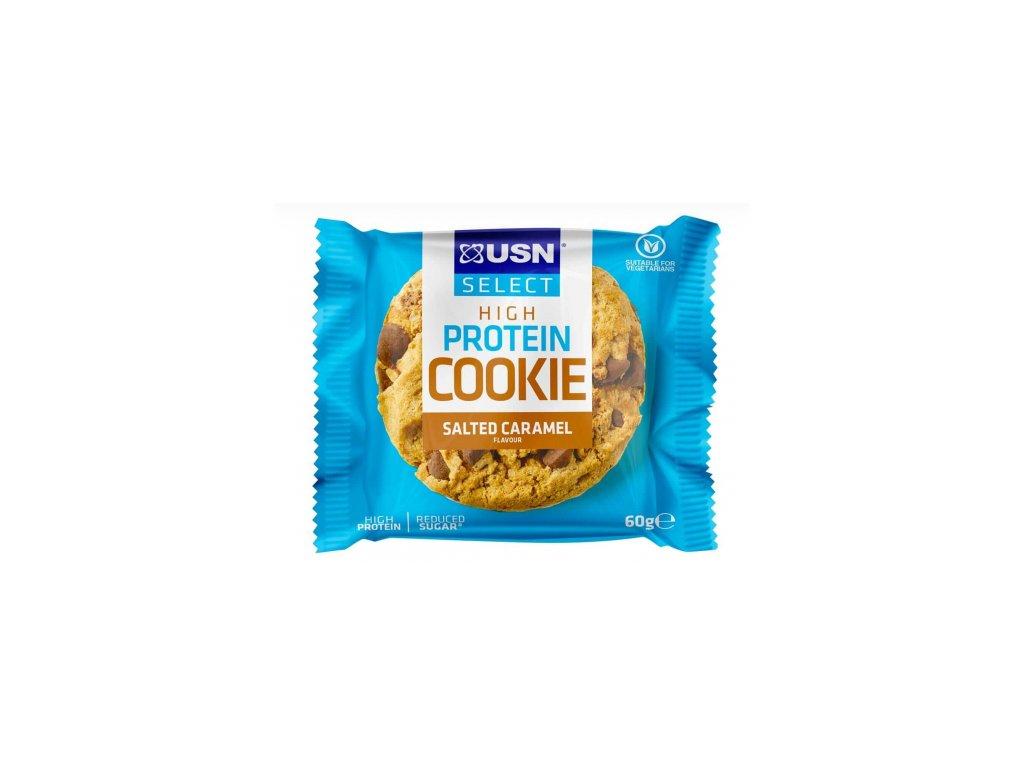 Protein cookie slany karamel