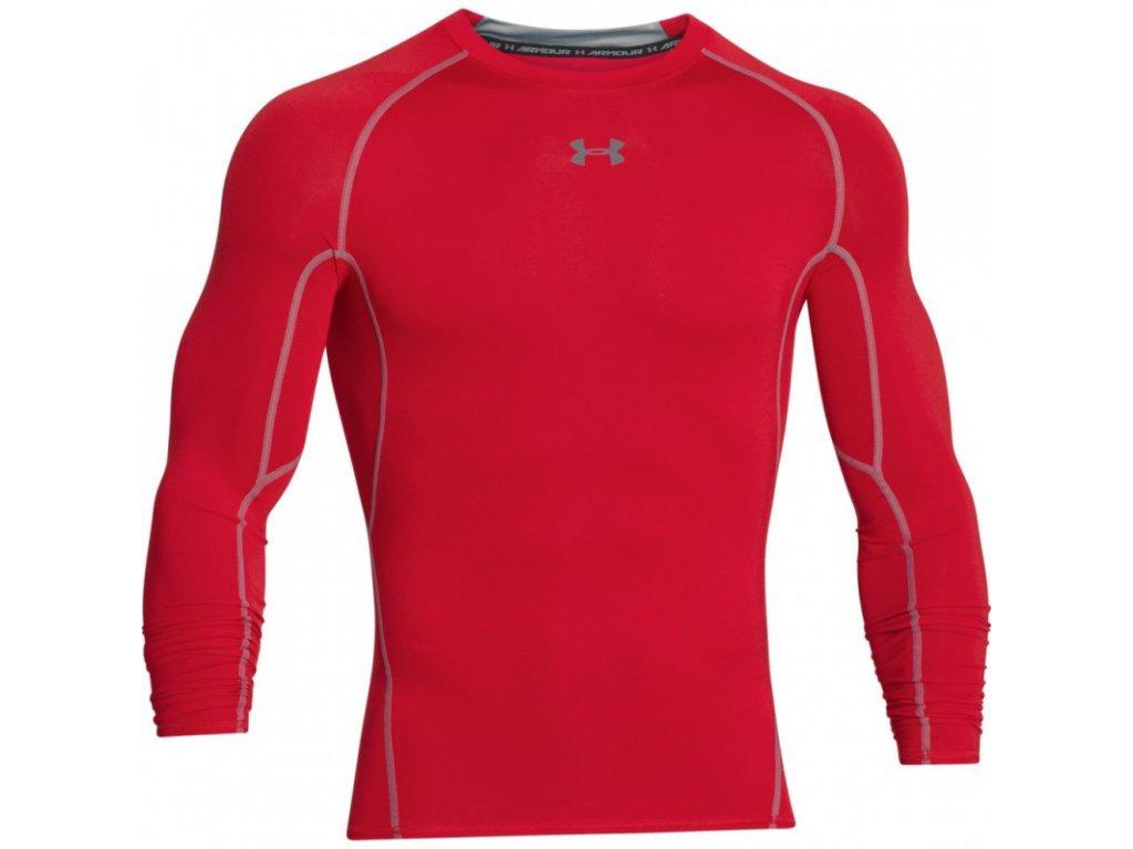 Under armour kompresné tričko červené