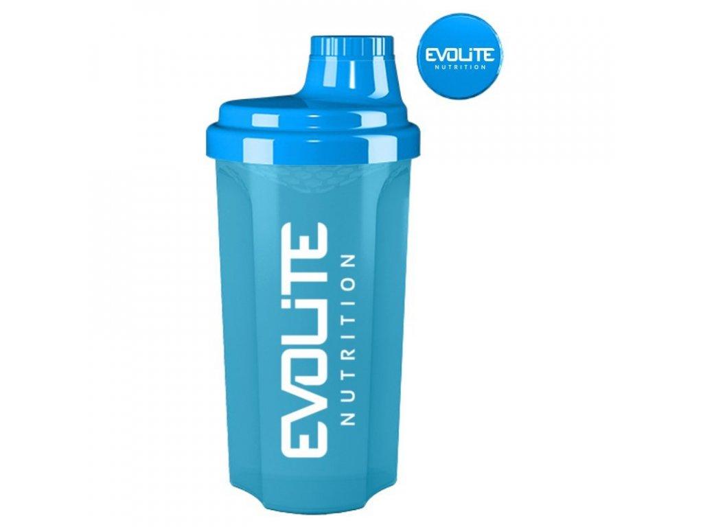 Shaker modrý Evolite nutrition