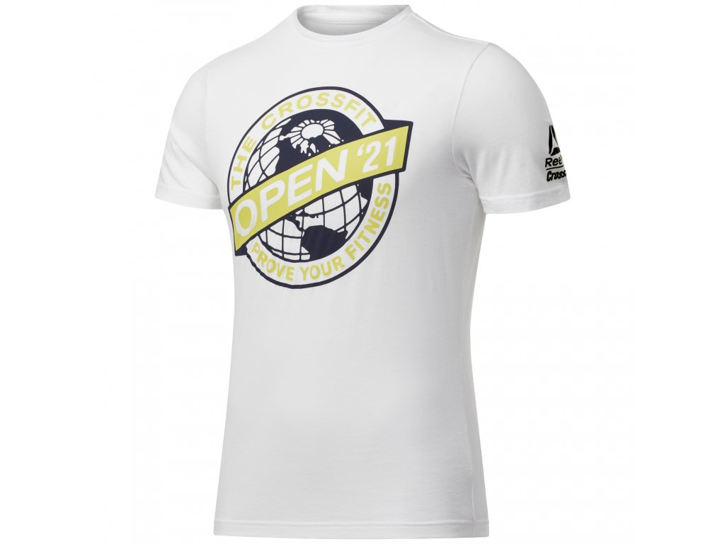 Pánské tričko Reebok RC Open 2021 FU1945