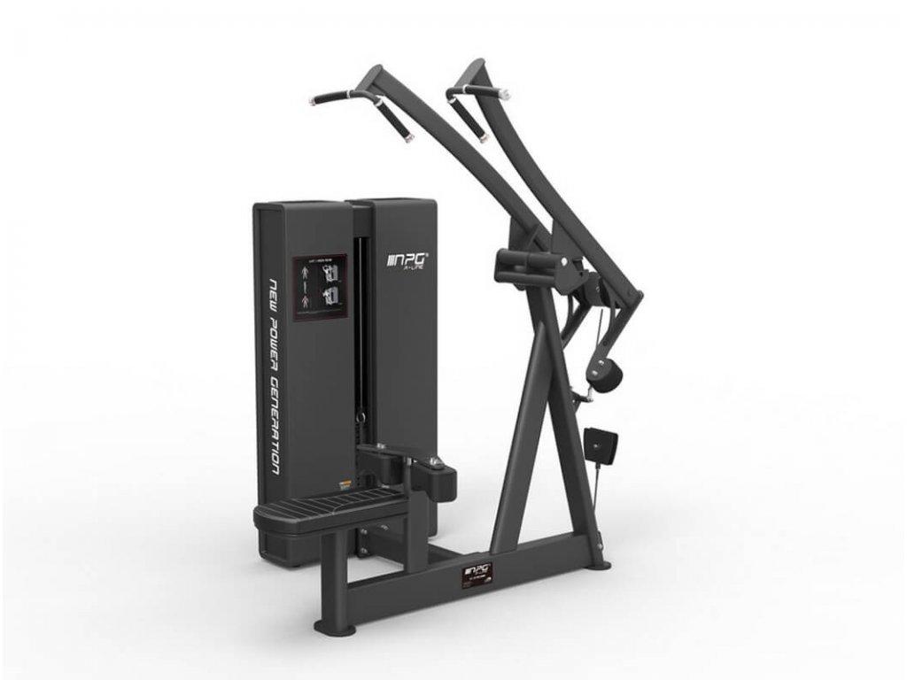 Posilňovací stroj na cvičenie chrbta - Pulldown - Cfshop.sk Vybavenie do fitness centra
