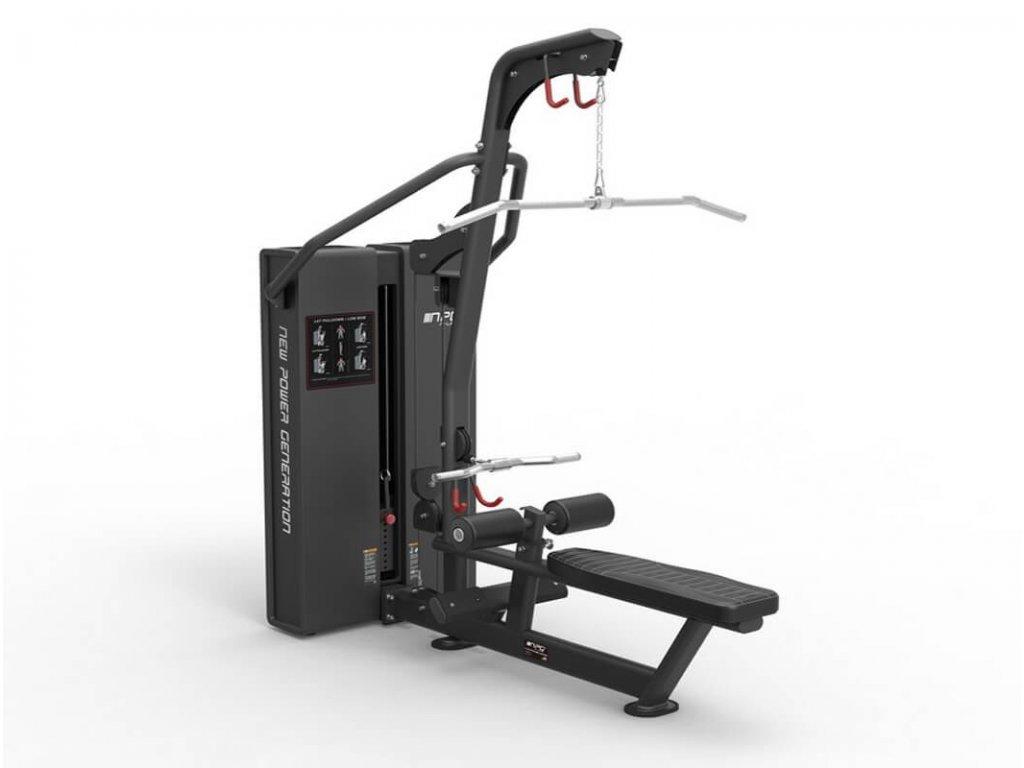 Posilnovaci stroj na cvičenie chrbta tricepsov a ramien - CFshop.sk, kvalitné a bezpečné stroje na cvičenie-