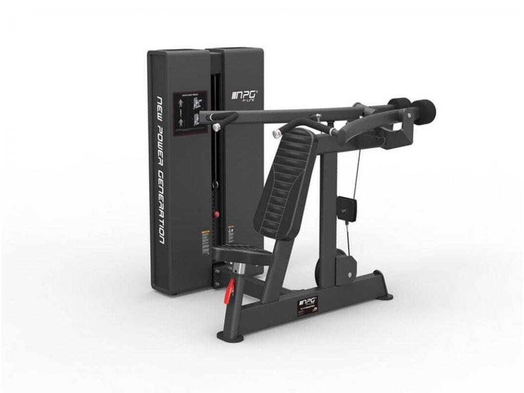 Posilovací stroj na ramená - tlaky na ramená - Cfshop.sk - NPG R-LINE