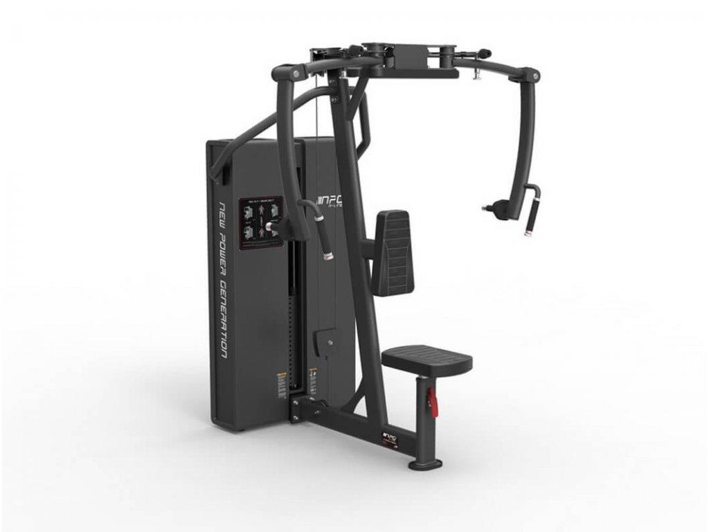 Posilnovaci stroj na cvičenie a rozpažovanie prsných svalov a ramien - CFshop.sk