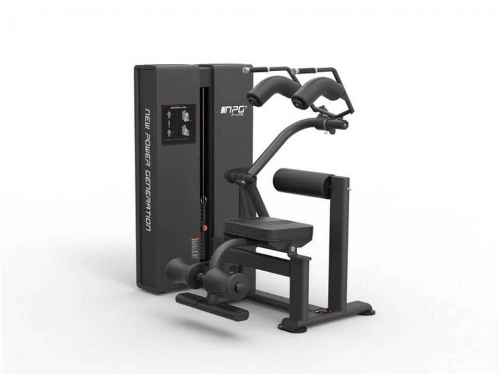Stroj na cvičenie brucha - NPG r line - CFshop.sk