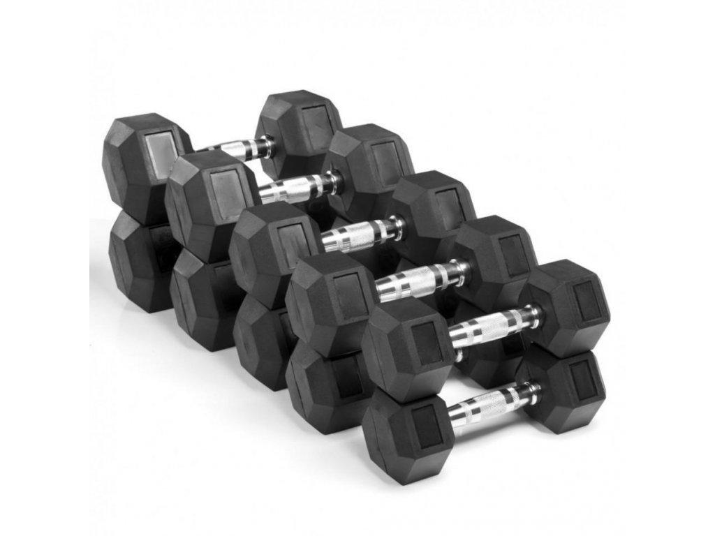 Sada hex jenodručie 10-30kg - Sets HEX dumbells - CFshop.sk