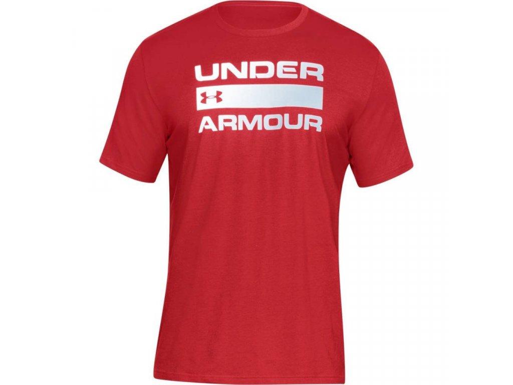 Pánske tričko Under Armour TEAM ISSUE - červené