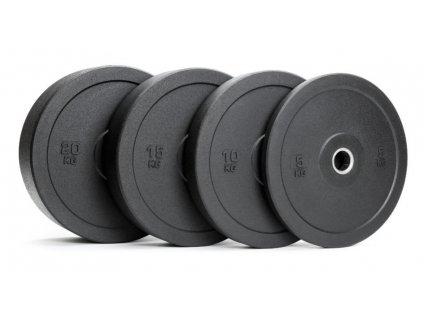 Bumper kotúč 20 kg - kotúče na cvičenie - gumený kotúč na cvičenie - cvičenie na doma - CFshop.sk