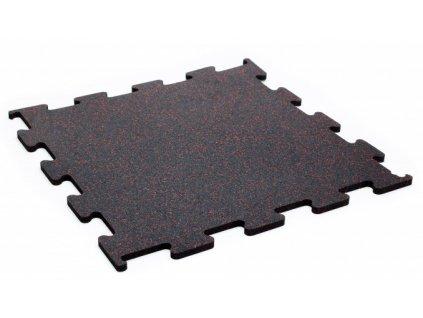 Podlaha Puzzle 1x1 m , red , červený granulát