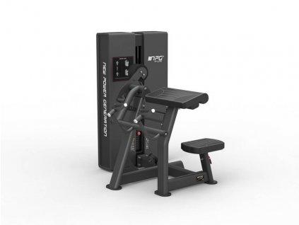 Posilňovací stroj na biceps - stroj na cvičenie paží - Cfshop.sk - NPG - R-LINE - profi stroj na cvičenie