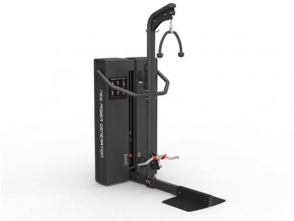 NPG R-LINE kladkostroj , stroj na cvičenie chrbta rúk a ramien ale aj brucha, CFshop.sk - vybevnie do gymu