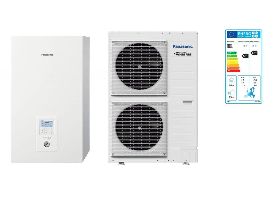 Panasonic tepelné čerpadlo Aquarea High Performance Split set KIT-WC012H6E5