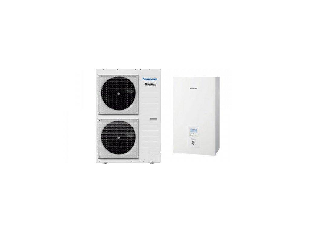 Panasonic tepelné čerpadlo Aquarea T-CAP split set KIT-WQC12H3E8