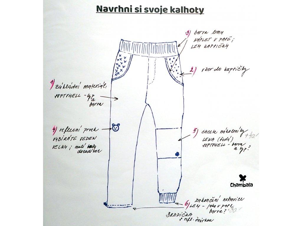 ♥ Kalhoty dle vlastního návrhu ♥