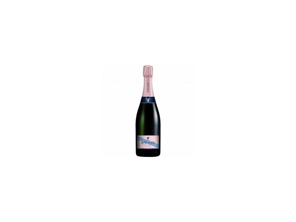 201 image champagne de venoge cordon bleu brut rose