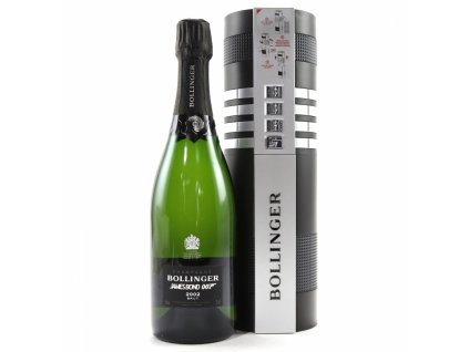 BOLLINGER 2002 (0,75l) - LIMITED EDITION 007