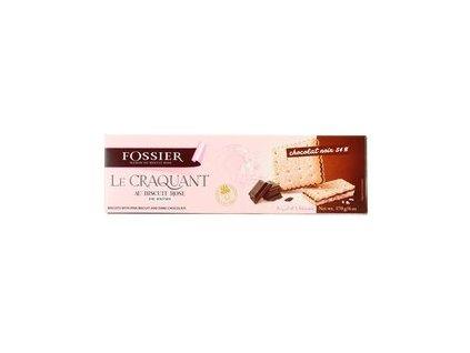 le craquant au biscuit rose de reims chocolat noir