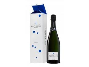 Champagne Castelnau Brut Réserve + Etui