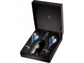 Barons de Rothschild Brut Romantic (0,75l) v dárkové krabičce se dvěma skleničkami