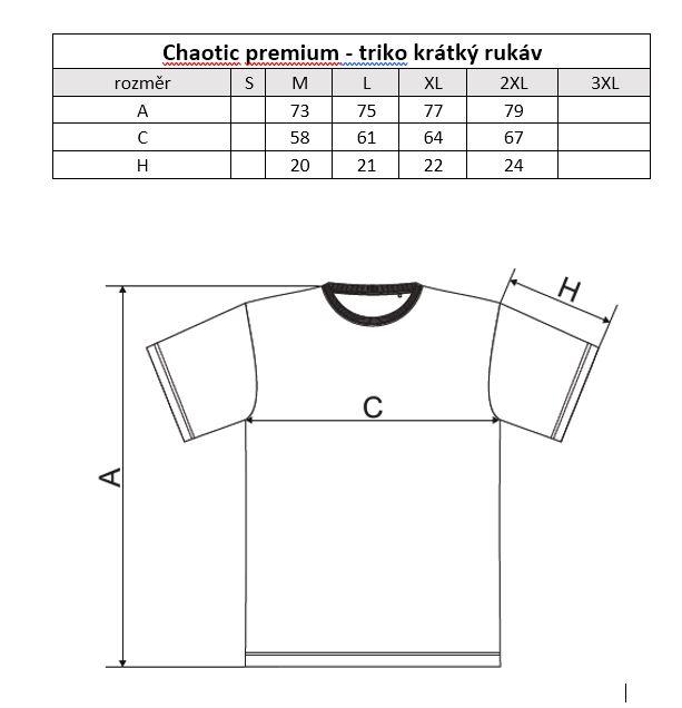 Chaotic premium - krátký rukáv