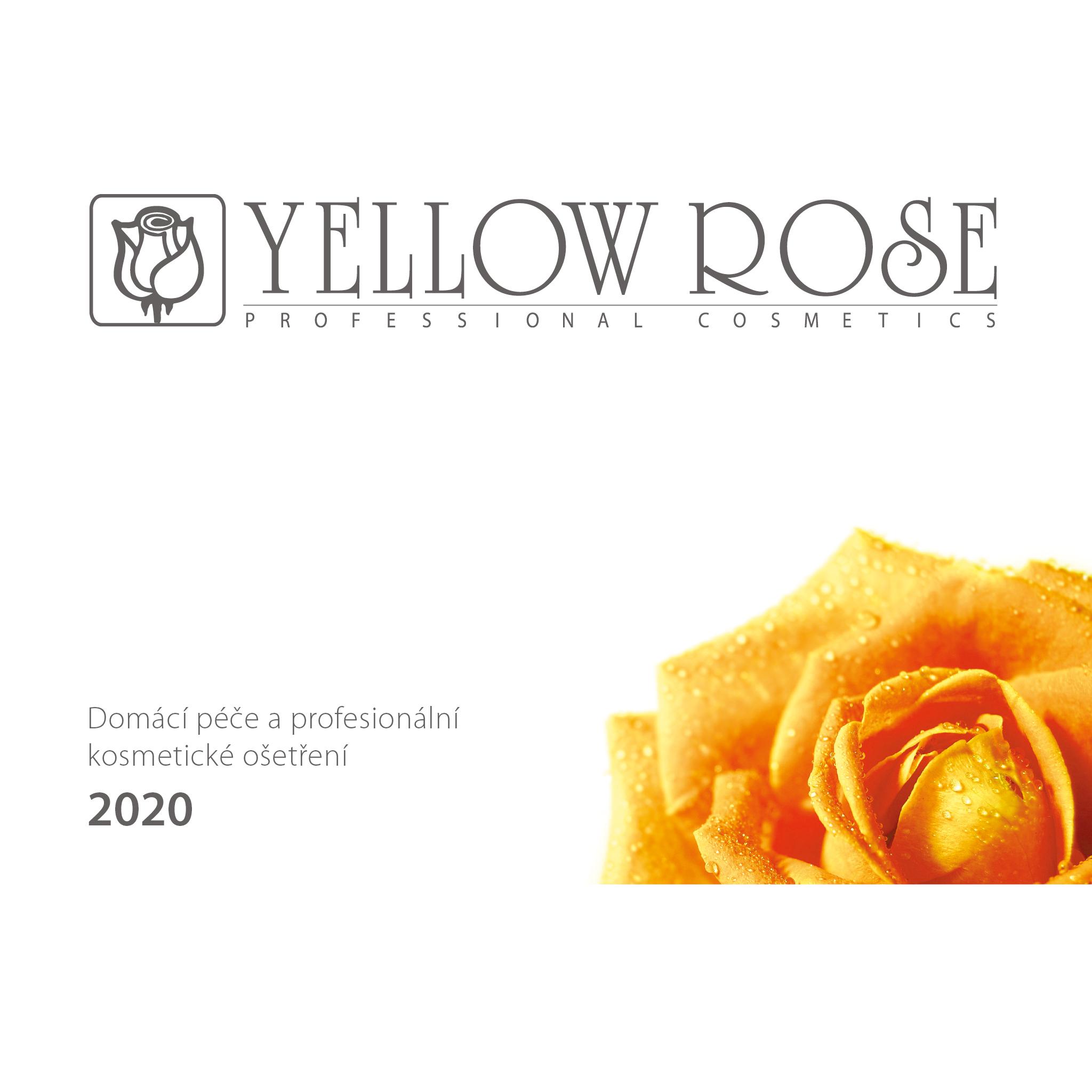 Katalog domácí péče Yellow Rose Professional cosmetics®