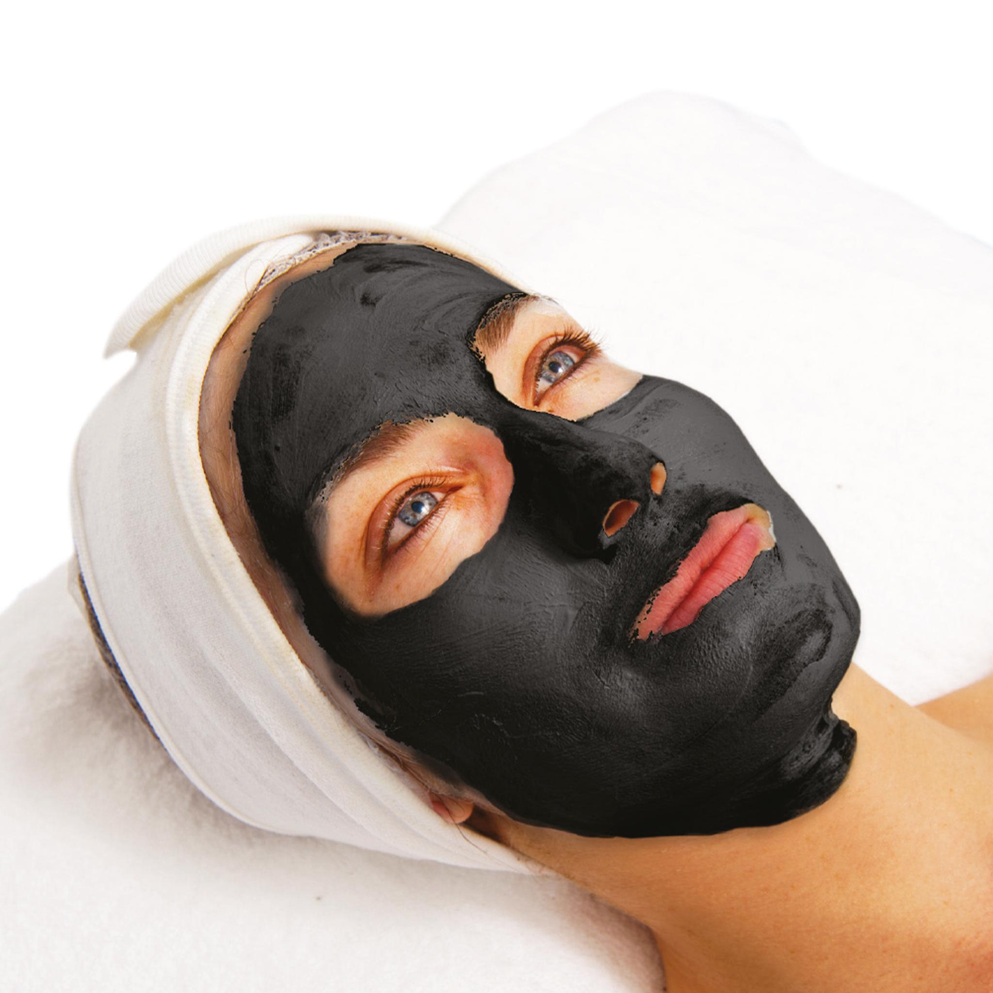 Čistící masky s aktivním uhlím